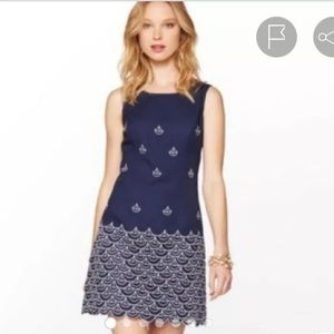 Lilly Pulitzer Clarita Embroidered Sailing Dress